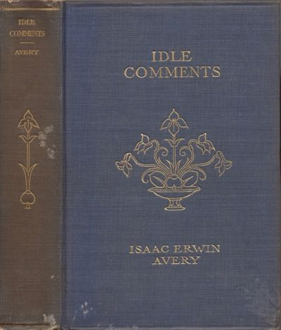 Charlotte, N. C.: Stone Publishing Company, 1912. Hardcover. Good. Octavo. xviii, 271 pages. Frontis...