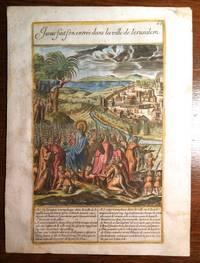 Jesus fait son entree dans la ville de Jerusalem