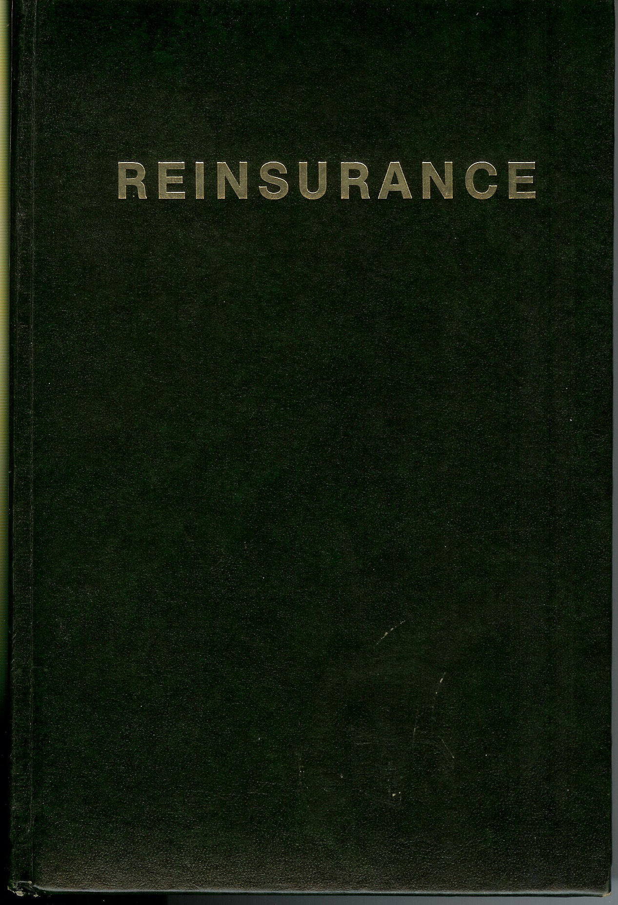 Ny Insurance Codes >> Reinsurance : Written By the Twenty-Three Authorities by Strain, Robert W - 1980