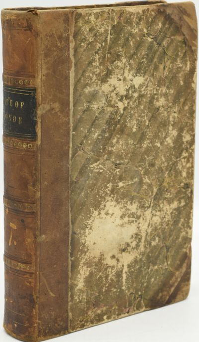 New York: Wiley & Putnam, 1845. Half Leather. Good binding. Lord Mahon's The Life of Louis, Prince o...