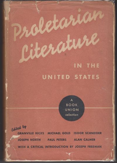 New York: International Publishers. 1935. First Edition; First Printing. Hardcover. Minor toning to ...