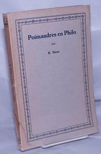 image of Poimandres en Philo; een vergelijking van Poimandres # 12- #32 met Philo's uitleg van Genesis I, 26-27 en II, 7