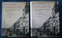 Canaletto, Giovanni Antonio Canal, 1697 - 1768, Two Volumes
