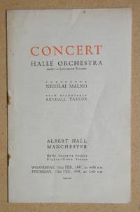 image of Halle Orchestra. Concert Programme. 12th & 13th February 1947.