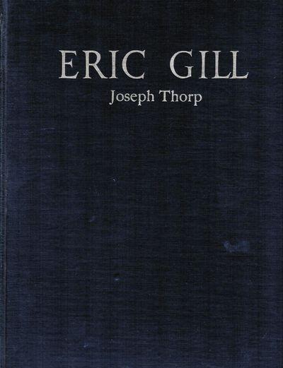 London: Jonathan Cape, 1929. First edition. Hardcover. Orig. black cloth. Near fine. Gill, Eric. 27 ...