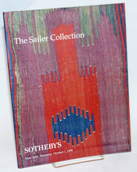 The Sailer Collection, Lots 1-92; Sotheby\'s New York Thursday October 1, 1998