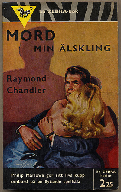 Stockholm: Albert Bonniers Forlag, 1955. Octavo, pictorial wrappers. Swedish paperback edition. Zebr...