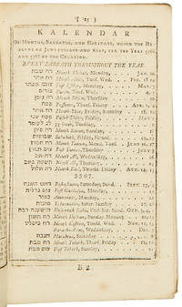 The New Jamaica Almanack, and Register, for the Year of our Lord 1806