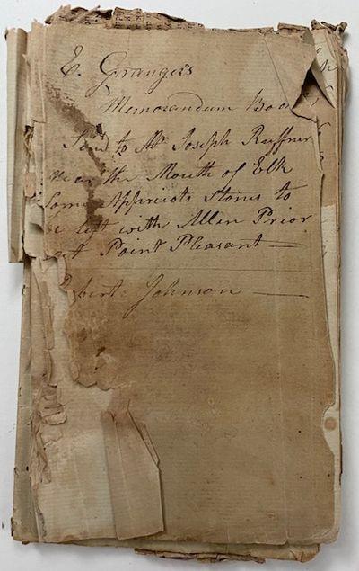 Four (4) manuscript diaries of...