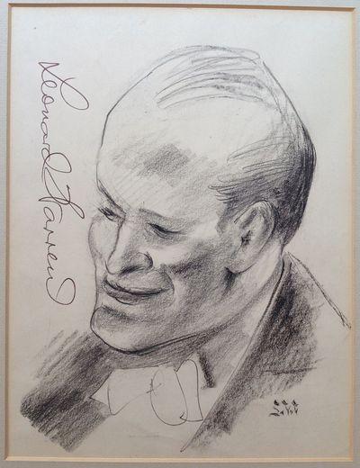 1949. unbound. Original art signed