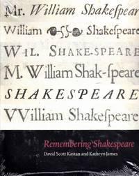 Remembering Shakespeare