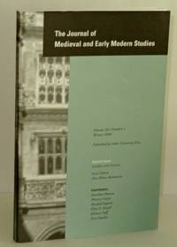 Journal of Medieval and Early Modern Studies, Volume 30, Number 1, Winter 2000; Special Issue: Gender and Secrecy