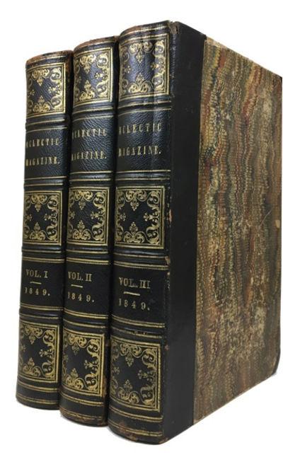 New York: W. H. Bidwell, 1849. Hardcover. Good. 3 vols. 12 illustrations, iv, 572, iv, 576, iv, 568p...