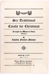 image of Six Traditional Carols for Christmas (Octavo No. 13,755 - Arranged for Women's Voices, Three-Part)