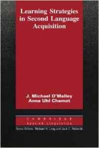 Learning Strategies in Second Language Acquisition (Cambridge Applied Lingu istics)