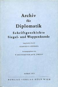 Vol. 19, 1973. by  SIEGEL U  SCHRIFTGESCHICHTE - from Frits Knuf Antiquarian Books (SKU: 55854)