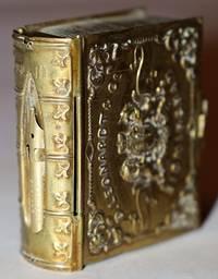 [Faux Book] D. Leonardt & Co. Birmingham Universal Pen Tin Pen Nib Box
