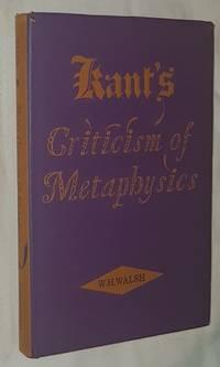 Kant's Criticism of Metaphysics