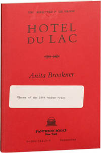 image of Hotel du Lac (Uncorrected Proof)