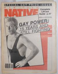 image of New York Native: #92, June 18 - July 1, 1984; Special Gay Pride issue!