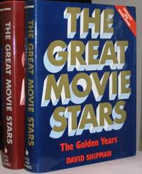 The Great Movie Stars:  vol 1. - The Golden Years; (with) vol 2. - The International Years   -(two hard covers with dust jackets)-