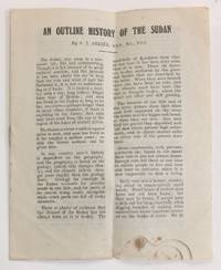 image of An outline history of the Sudan