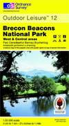 image of Brecon Beacons National Park: Western and Central Areas (Explorer Maps)