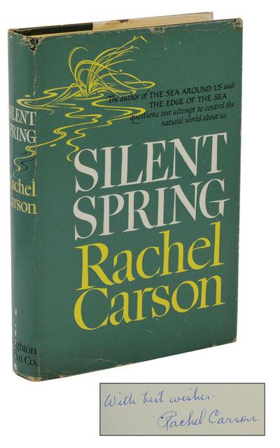 Boston: Houghton Mifflin Company, 1962. First Edition. Near Fine/Very Good. First edition, first pri...