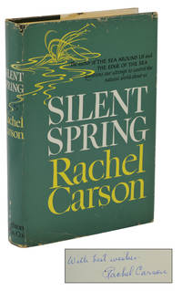 Silent Spring by  Rachel Carson - Signed First Edition - 1962 - from Burnside Rare Books, ABAA (SKU: 140939130)