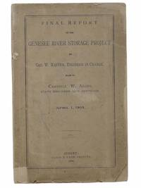 Final Report on the Genesee River Storage Project, April 1, 1894