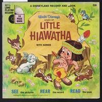 image of Walt Disney's Story of Little Hiawatha - A Disneyland Reord and Book No.330