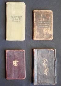 John W. Hemig Diaries --  4 advertising notebooks and diaries used by Philadelphia waiter 1916-1920