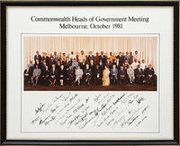 Group photograph of the Commonwealth heads of government meeting in Melbourne, October 1981.
