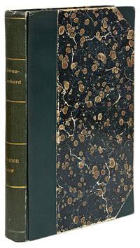 Das Gemeine Recht Englands und Nordamerikas (The Common Law) [With].. by  Rudolf  Oliver Wendell; Leonhard  - First edition  - 1912  - from The Lawbook Exchange Ltd (SKU: 21953)