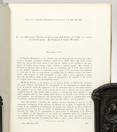 Cambridge: Cambridge University, 1879. First edition offpring. modern wrappers. Fine. FIRST EDITION,...