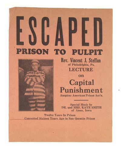 Escaped, Prison to Pulpit, Rev...