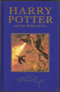 Harry Potter and the Goblet of Fire Bloomsbury UK Deluxe Special Edition (First edition, first...
