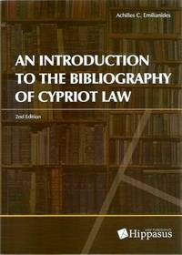 An Introduction to the Bibliography of Cypriot Law