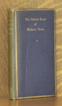 image of THE OXFORD BOOK OF MODERN VERSE 1892-1935