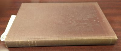 New York, NY: The Macmillan Company, 1921. US Printing. Hardcover. small 8vo. VG-; spine is sunned g...