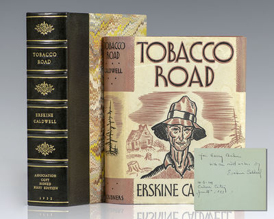 New York: Charles Scribner's Sons, 1932. First edition of Caldwell's classic work. Octavo, original ...