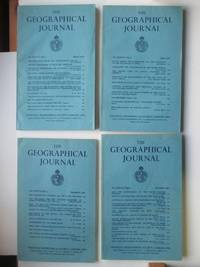 image of The Geographical Journal: Vol CXXVII (127) Parts 1, 2, 3 & 4 March, June,  September and December 1961 (4 magazines)
