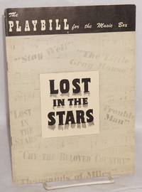 Lost in the stars; playbill for the original Music Box Theatre production 1950