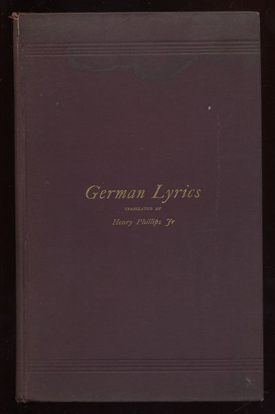 Philadelphia: Private Printing, 1892. Hardcover. Very Good. First edition. Gift inscription, stain o...