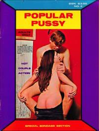Popular Pussy (Vintage adult magazine, HGL film feature, 1972)