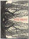 Fine Print: Volume 16, Number 1, Sprint, 1990