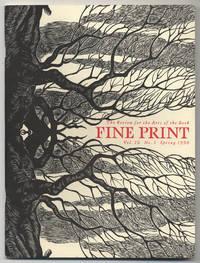 image of Fine Print: Volume 16, Number 1, Sprint, 1990