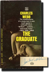 image of The Graduate (First Edition in paperback, signed by the author in 1964 to his publisher)