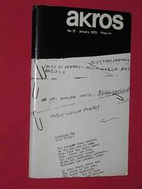Akros Volume 4, Number 12, January 1970