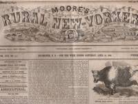 Moore's Rural New Yorker by [Daniel D. T. Moore] - 1866 - from Americana Books ABAA (SKU: 16865)